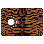 SKIN2 BLACK MARBLE & RUSTED METAL Kindle Fire HDX Flip 360 Case Front