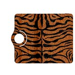 SKIN2 BLACK MARBLE & RUSTED METAL Kindle Fire HDX 8.9  Flip 360 Case Front