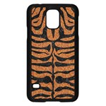 SKIN2 BLACK MARBLE & RUSTED METAL Samsung Galaxy S5 Case (Black) Front
