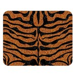 SKIN2 BLACK MARBLE & RUSTED METAL Double Sided Flano Blanket (Large)  80 x60 Blanket Front