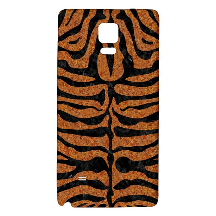 SKIN2 BLACK MARBLE & RUSTED METAL Galaxy Note 4 Back Case