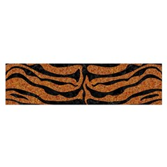 Skin2 Black Marble & Rusted Metal Satin Scarf (oblong)