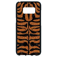 Skin2 Black Marble & Rusted Metal Samsung Galaxy S8 Black Seamless Case