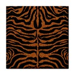 SKIN2 BLACK MARBLE & RUSTED METAL (R) Tile Coasters Front