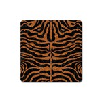 SKIN2 BLACK MARBLE & RUSTED METAL (R) Square Magnet Front