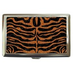SKIN2 BLACK MARBLE & RUSTED METAL (R) Cigarette Money Cases Front