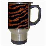 SKIN2 BLACK MARBLE & RUSTED METAL (R) Travel Mugs (White) Right