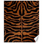 SKIN2 BLACK MARBLE & RUSTED METAL (R) Canvas 8  x 10  10.02 x8 Canvas - 1