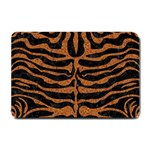 SKIN2 BLACK MARBLE & RUSTED METAL (R) Small Doormat  24 x16 Door Mat - 1