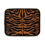 SKIN2 BLACK MARBLE & RUSTED METAL (R) Netbook Case (Small)  Front
