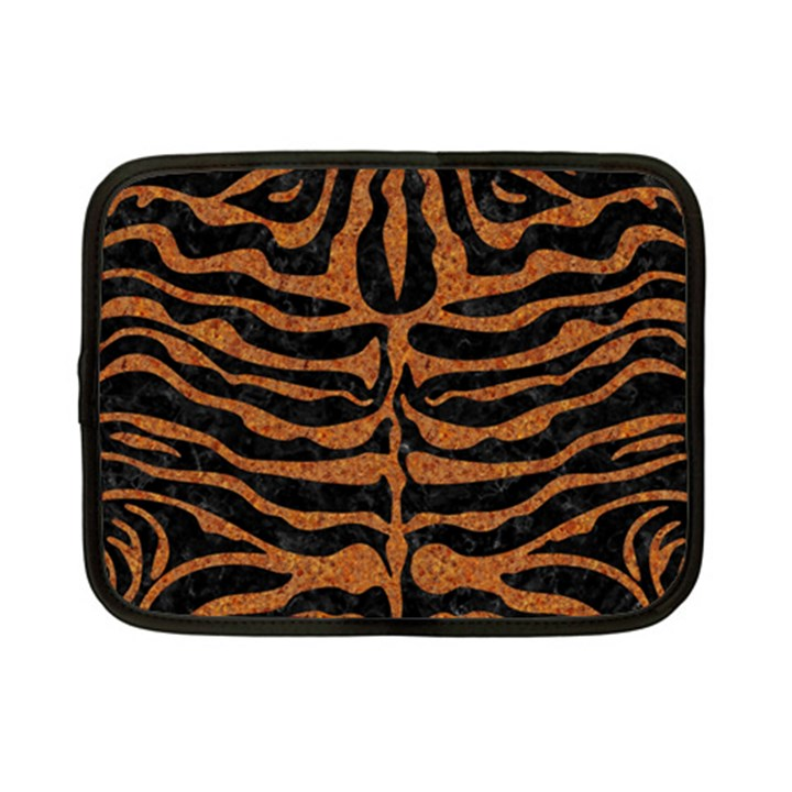 SKIN2 BLACK MARBLE & RUSTED METAL (R) Netbook Case (Small)