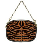 SKIN2 BLACK MARBLE & RUSTED METAL (R) Chain Purses (One Side)  Front