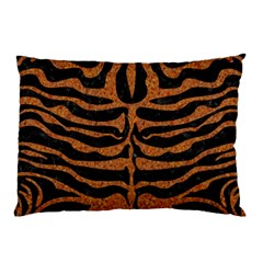 Skin2 Black Marble & Rusted Metal (r) Pillow Case