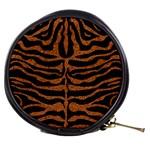 SKIN2 BLACK MARBLE & RUSTED METAL (R) Mini Makeup Bags Front