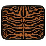 SKIN2 BLACK MARBLE & RUSTED METAL (R) Netbook Case (XXL)  Front