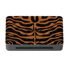 Skin2 Black Marble & Rusted Metal (r) Memory Card Reader With Cf
