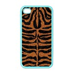 SKIN2 BLACK MARBLE & RUSTED METAL (R) Apple iPhone 4 Case (Color) Front