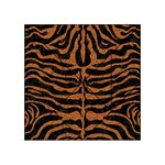 SKIN2 BLACK MARBLE & RUSTED METAL (R) Acrylic Tangram Puzzle (4  x 4 ) Front