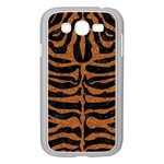 SKIN2 BLACK MARBLE & RUSTED METAL (R) Samsung Galaxy Grand DUOS I9082 Case (White) Front