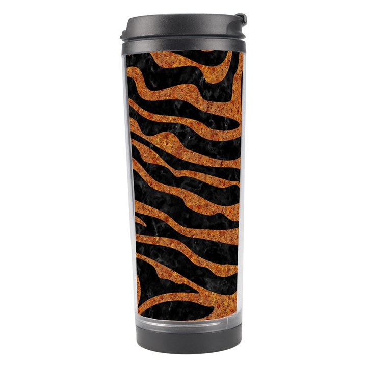SKIN2 BLACK MARBLE & RUSTED METAL (R) Travel Tumbler