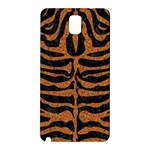 SKIN2 BLACK MARBLE & RUSTED METAL (R) Samsung Galaxy Note 3 N9005 Hardshell Back Case Front