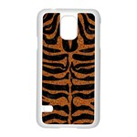 SKIN2 BLACK MARBLE & RUSTED METAL (R) Samsung Galaxy S5 Case (White) Front