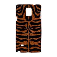 Skin2 Black Marble & Rusted Metal (r) Samsung Galaxy Note 4 Hardshell Case