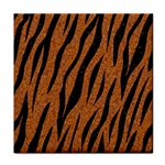 SKIN3 BLACK MARBLE & RUSTED METAL Tile Coasters Front