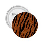 SKIN3 BLACK MARBLE & RUSTED METAL 2.25  Buttons Front