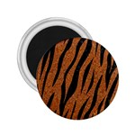 SKIN3 BLACK MARBLE & RUSTED METAL 2.25  Magnets Front