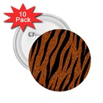 SKIN3 BLACK MARBLE & RUSTED METAL 2.25  Buttons (10 pack)  Front