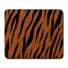 Skin3 Black Marble & Rusted Metal Large Mousepads
