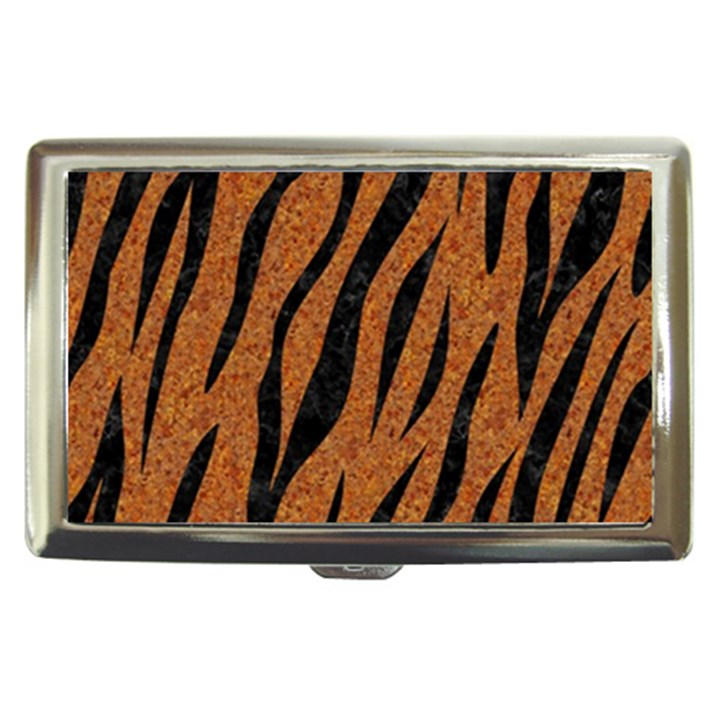 SKIN3 BLACK MARBLE & RUSTED METAL Cigarette Money Cases