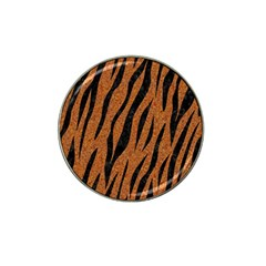 Skin3 Black Marble & Rusted Metal Hat Clip Ball Marker