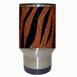SKIN3 BLACK MARBLE & RUSTED METAL Travel Mugs (White) Center