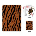 SKIN3 BLACK MARBLE & RUSTED METAL Playing Card Back