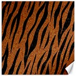 SKIN3 BLACK MARBLE & RUSTED METAL Canvas 16  x 16   16 x16 Canvas - 1