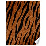 SKIN3 BLACK MARBLE & RUSTED METAL Canvas 36  x 48   48 x36 Canvas - 1