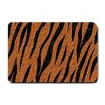SKIN3 BLACK MARBLE & RUSTED METAL Small Doormat  24 x16 Door Mat - 1