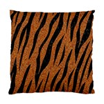 SKIN3 BLACK MARBLE & RUSTED METAL Standard Cushion Case (Two Sides) Back