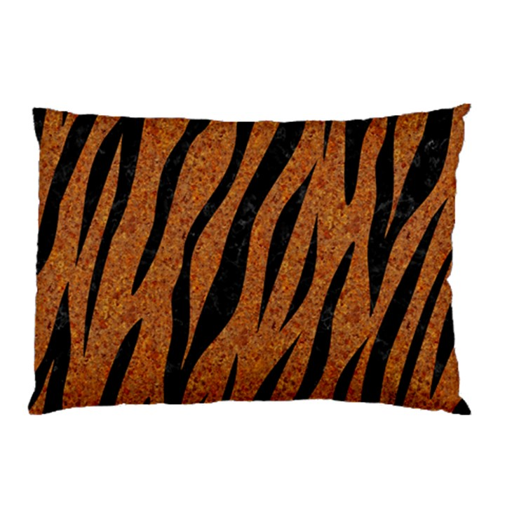 SKIN3 BLACK MARBLE & RUSTED METAL Pillow Case