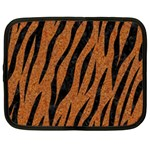 SKIN3 BLACK MARBLE & RUSTED METAL Netbook Case (XL)  Front