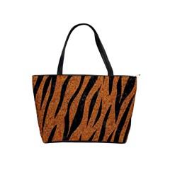 Skin3 Black Marble & Rusted Metal Shoulder Handbags