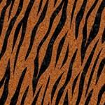 SKIN3 BLACK MARBLE & RUSTED METAL Storage Stool 12   Top