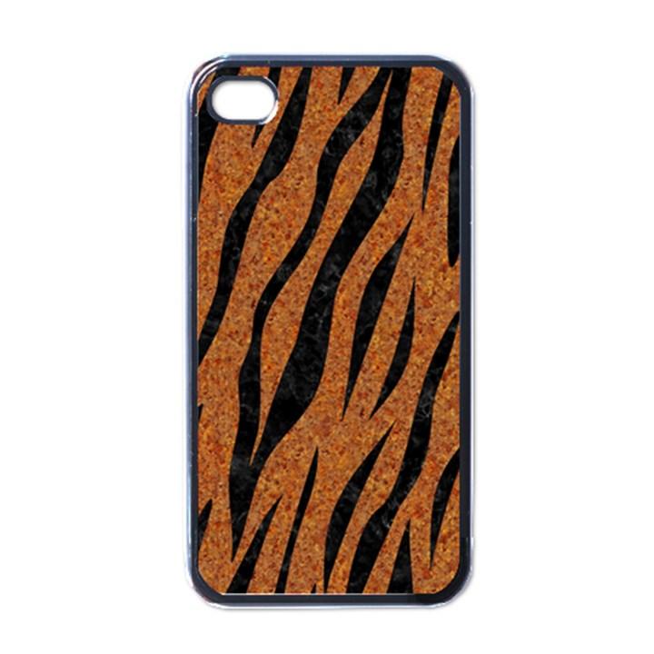SKIN3 BLACK MARBLE & RUSTED METAL Apple iPhone 4 Case (Black)