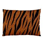 SKIN3 BLACK MARBLE & RUSTED METAL Pillow Case (Two Sides) Back