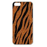 SKIN3 BLACK MARBLE & RUSTED METAL Apple Seamless iPhone 5 Case (Clear) Front