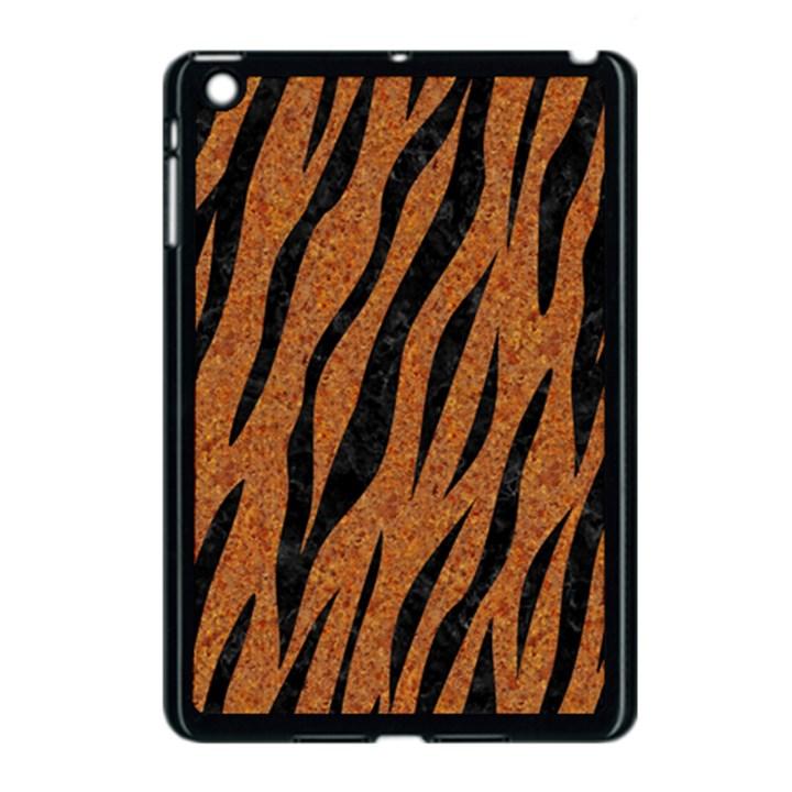 SKIN3 BLACK MARBLE & RUSTED METAL Apple iPad Mini Case (Black)