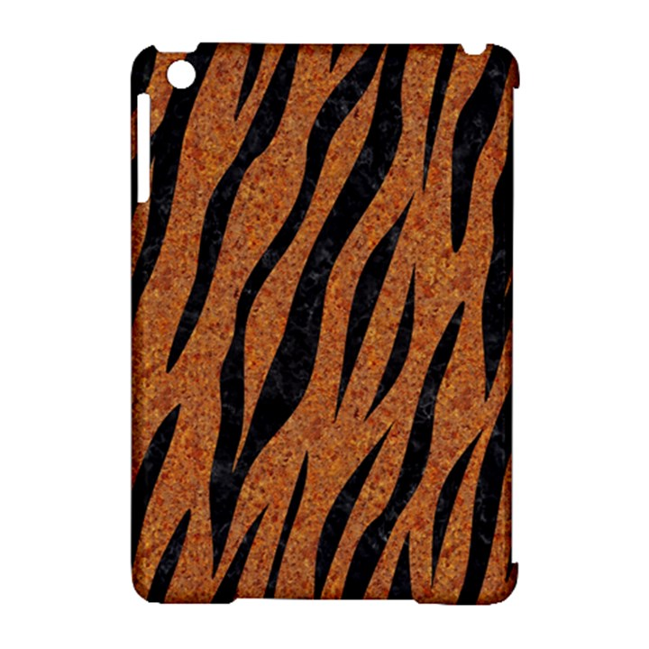 SKIN3 BLACK MARBLE & RUSTED METAL Apple iPad Mini Hardshell Case (Compatible with Smart Cover)