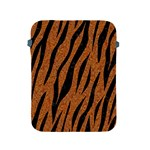 SKIN3 BLACK MARBLE & RUSTED METAL Apple iPad 2/3/4 Protective Soft Cases Front